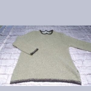 Stephanie Rogers large sweater tan brown